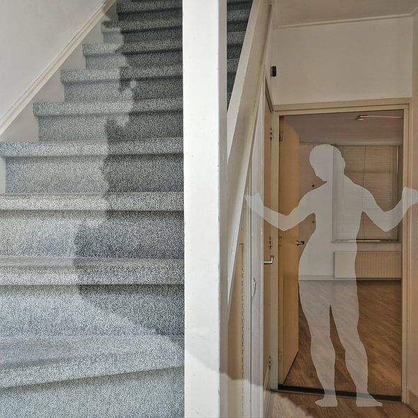 Clear view in het trapportaal van Ruben van Gogh