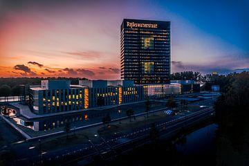 Sonnenuntergang Rijkswaterstaat von de Utregter Fotografie