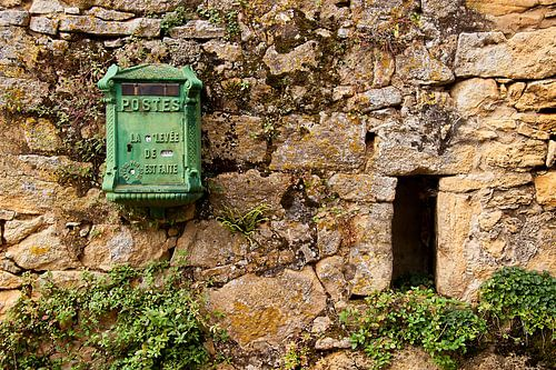 Oude franse brievenbus van