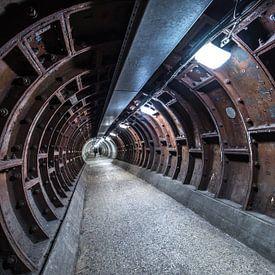 Greenwich Foot Tunnel van Gerry van Roosmalen
