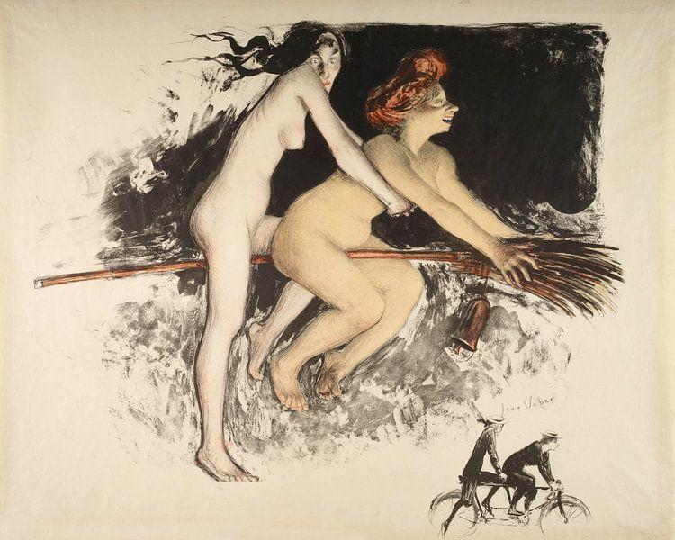 Hexen, Jean veber - 1900 von Atelier Liesjes