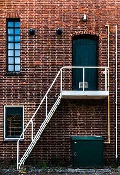 Brick wall van Danny Engelbarts