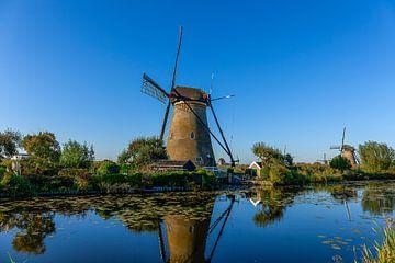 kinderdijk moulins à vent hollande sur Björn van den Berg
