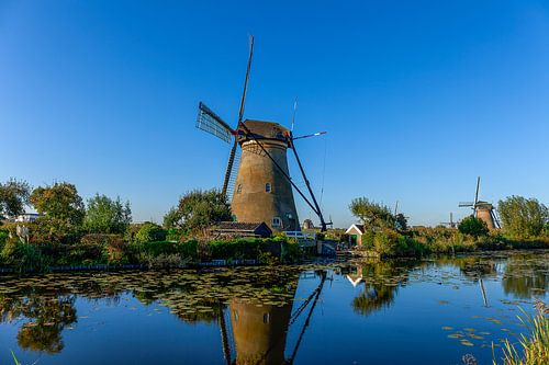 windmolens kinderdijk holland