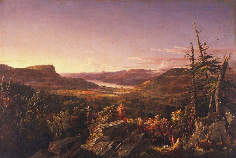 Jasper Francis Cropsey - Blick auf den Greenwood Lake, New Jersey von finemasterpiece