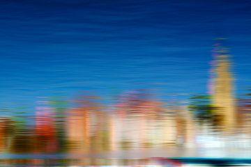 Sur l'eau du port sur Martine Affre Eisenlohr
