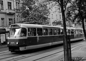 Praagse tram van