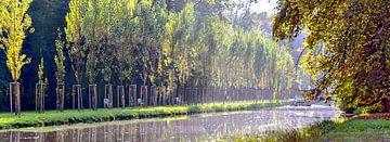 Waterloop in het kasteelpark van Leopold Brix