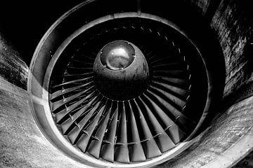 Pratt & Whitney-Triebwerk der Martinair MD-11F von Dennis Janssen