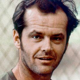 Jack Nicholson Portrait, 1975 von Bridgeman Images