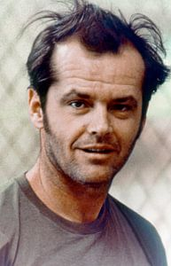 Jack Nicholson Portret, 1975 van Bridgeman Images