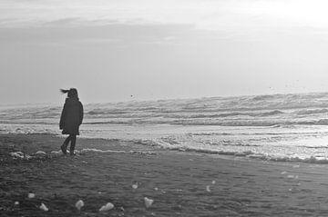 Meisje aan Zee van Agnes Meijer