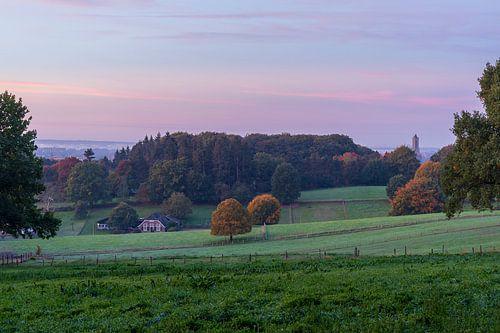 Arnhemse Park Klarenbeek heuvelachtig landschap in de Gelderse hoofdstad