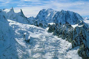 Glacier du Mont-Mallet van Jc Poirot