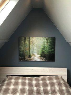 Klantfoto: Through the Pines van Martijn van Geloof