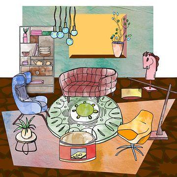 Sweet Home -interieur en meubilair -7 van Ariadna de Raadt