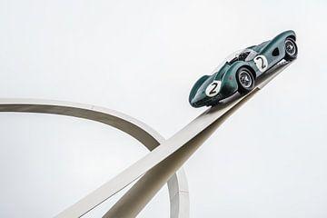 Festival der Geschwindigkeitsskulptur Aston Martin von Bas Fransen
