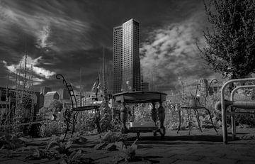 Skyline Rotterdam von Henk Miedema