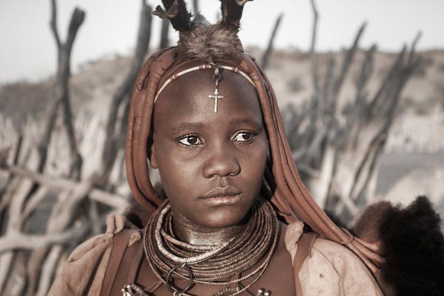 Himba Woman Portrait 2/4