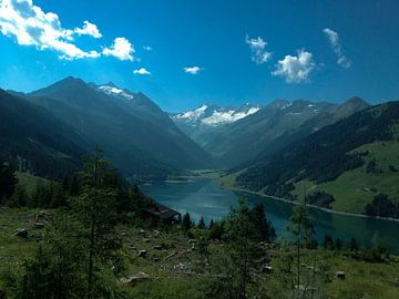 Landschap in Oostenrijk von Melanie Schook