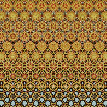 abstracte kleurrijke geometrische achtergrond van Ariadna de Raadt