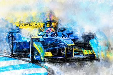 Sebastien Buemi, Formule E van Theodor Decker