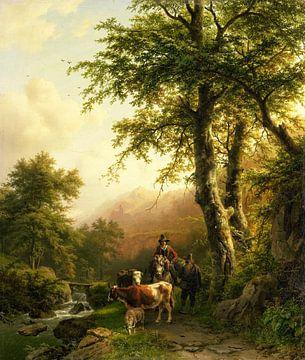 Italienische Landschaft, Barend Cornelis Koekkoek