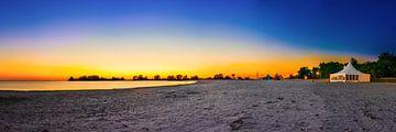 Strand van Makkum van Günter Albers