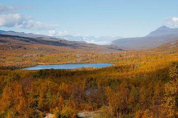 Herfstlandschap Noorwegen van Kimberley Jekel