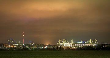 Skyline Dortmund van Johnny Flash
