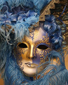 Venetian mascaraed von Brian Raggatt