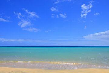 Uitzicht op Atlantische Oceaan van Dustin Musch