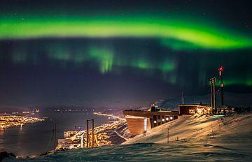 Noorderlicht in Noorwegen van Richard Driessen