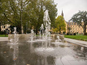 Fonteinen in Luxembourg van Moniek van Rijbroek