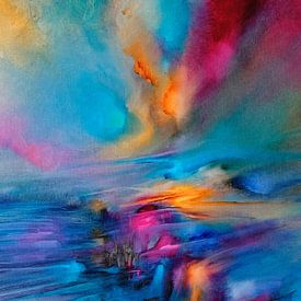 De zon en de wind II van Annette Schmucker