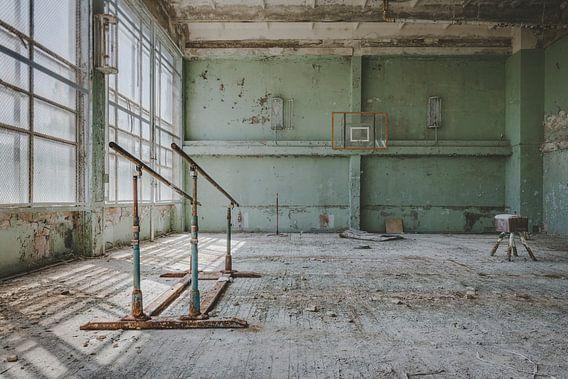 Sportzaal Tsjernobyl van Perry Wiertz