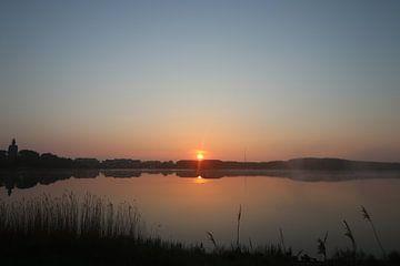 Un coucher de soleil à couper le souffle sur Wendy Hilberath