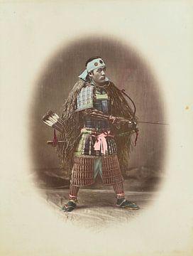 Weinlese-Samurai