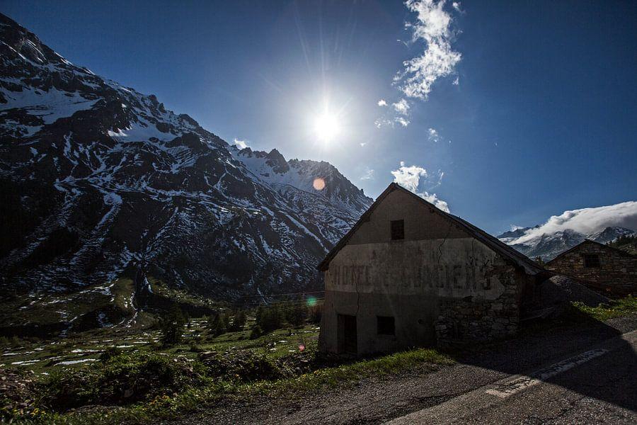 Alpen, Refuge Napoleon - Lautaret-Galibier van Robert van Willigenburg
