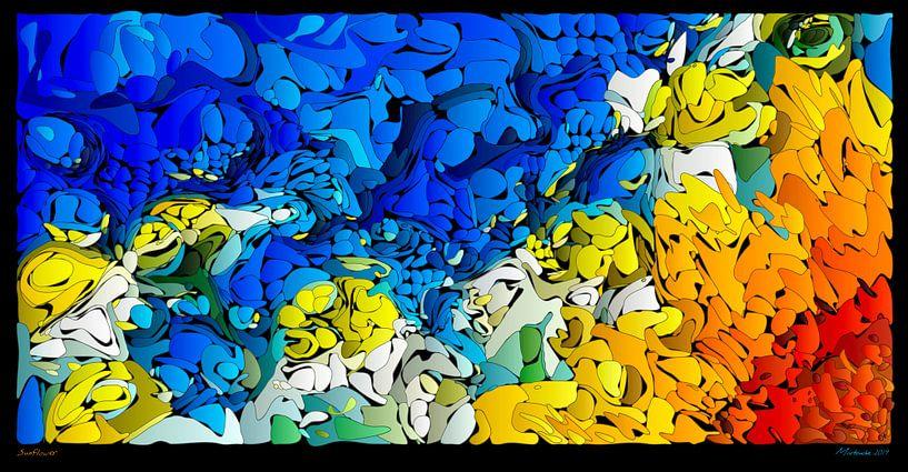 Sonnenblume von Martin Melis