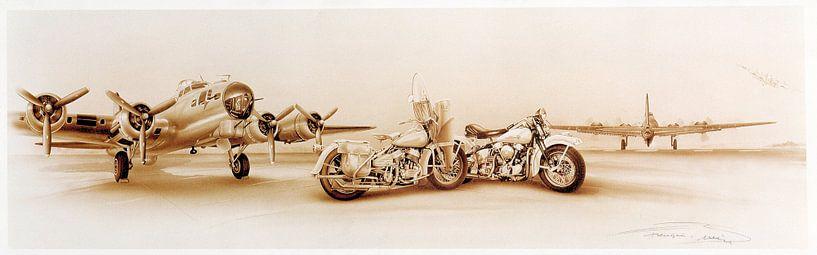 B72 BOMBER Harley Davidson van harley davidson