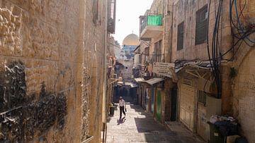 Gouden Rotskoepel Jeruzalem van Caroline de Vente
