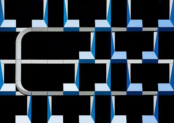 Geometrisch abstract van Greetje van Son