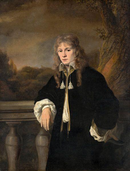 Porträt eines jungen Mannes, Ferdinand Bol von Meesterlijcke Meesters