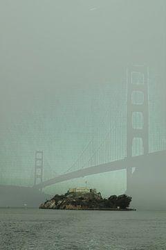 San Francisco - Alcatraz van Christine Nöhmeier