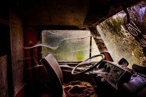 Innenseite Mercedes-Bus von jan boonstra