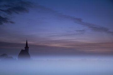 Die Kirche von Den Hoorn. von AGAMI Photo Agency