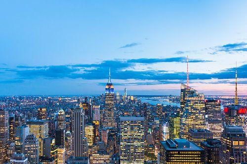 Uitzicht op New York (Manhattan)