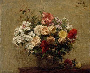 Sommerblumen, Henri Fantin-Latour