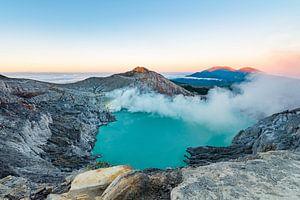 Kawa Ijen Vulkaan op Java